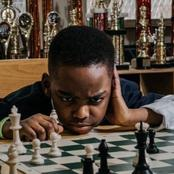 See How Many Trophies This Boy Won From Playing Chess.