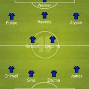 Thiago Returns, Ziyech & Pulisic Play From The Flank: Predicted 4-2-3-1 Chelsea Lineup Vs ManU