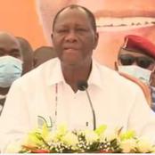 Report du scrutin: depuis Abengourou, Ouattara se moque de Bédié et Affi et met en garde