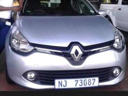 A Lady Stole This Car At The Osindisweni Hospital (please be on the lookout)