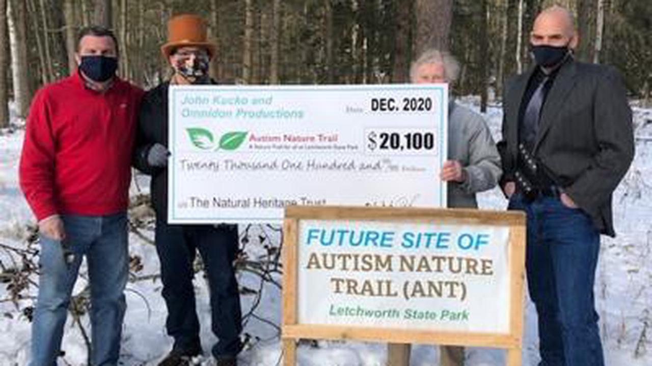 Kucko calendar Yields $20,100 for Letchworth State Park's Autism Nature Trail