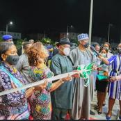 Bukola Saraki Commissions Rivers State Government House Clinic And Administrative Building (Photos)
