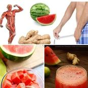 Benefit of watermelon and ginger combination