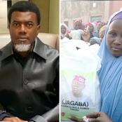 Reno Omokri Takes A Swipe At Tinubu Over Branded Bags Of Rice Shared To People