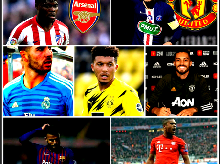 Transfer Window Done Deals: More Than 50 Completed Transfers On Closing Day.