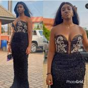 Black Is Indeed Beautiful! See Stunning Black Outfit Worn By Ifedioku Recently