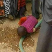 Emotions High As City Lawyer Posts Photos Of A Young Boy Doing This In Wajir