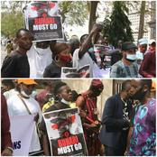 Protesters Storm The Streets Of Abuja Demanding For The Resignation Of President Buhari (Photos)