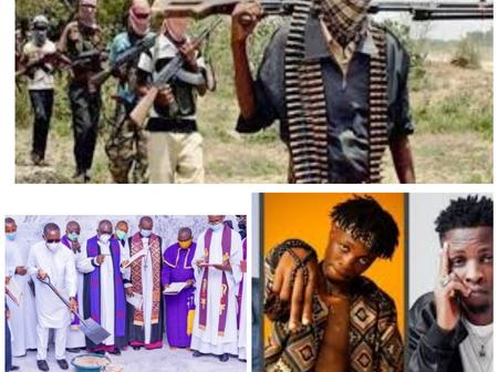 Today's Headlines: BBN 2020 Winner, Laycon Declares Himself 'god'; Gunmen Kill One, Abduct Staff, Students