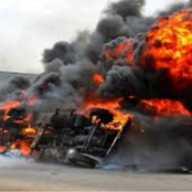 JUST IN: Tanker Explodes At NNPC Gas Station In Oremej, Ogun State (Video)