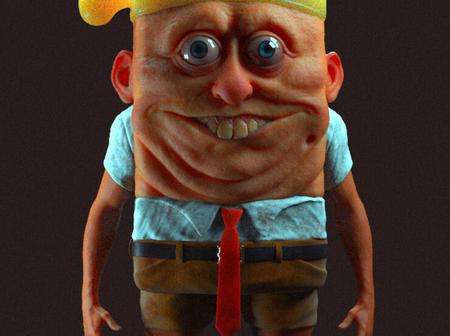 See Unusual photos of Sponge-bob as a human being