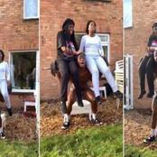Un jeune homme porte ses deux sœurs sur une barre de musculation pour dépasser ses limites (vidéo)