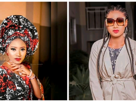 See 15 Stunning Pictures of Kannywood Actress Momee Gombe