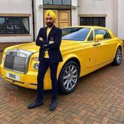 IN PICS: See rich Indian guy who matches his doek with his Royce Rolls car collection