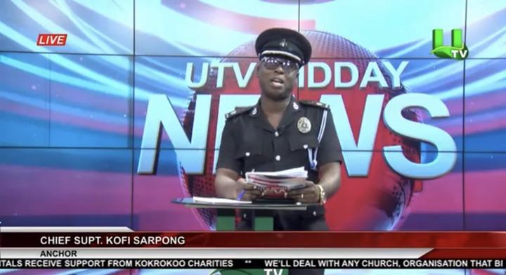 dfb3c5487eb94d8189cf2908bbc1b268?quality=uhq&resize=720 - Ghana Police Chief Superintendent Kofi Sarpong Appears On UTV As A News Anchor