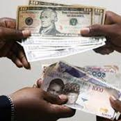 Check Out The New Exchange Rate Of United States Dollars To Nigerian Naira.