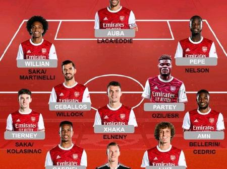 Arsenal Possible Lineup Against Leicester City Today (25/10/2020) At Emirates Stadium
