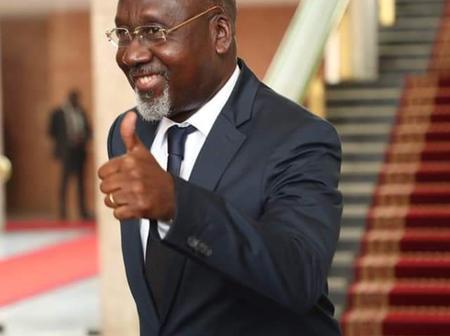Nommé ministre : Voici le nouvel état d'esprit d'Alcide Djédjé (images)