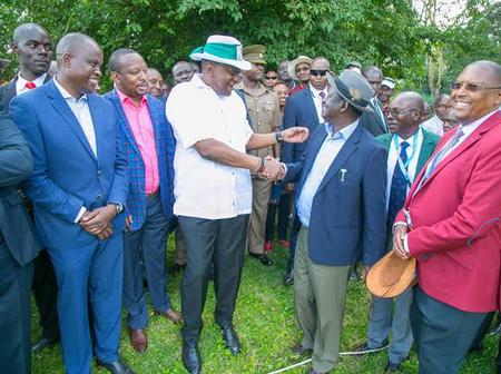 Uhuru's 2022 Choice 'Revealed' as a Split Is Reported Among His Allies