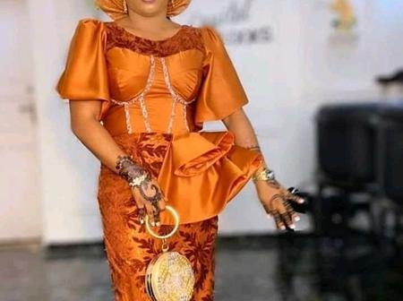 30 Orange Colored Asoebi Dresses That Will Make You Stand Out