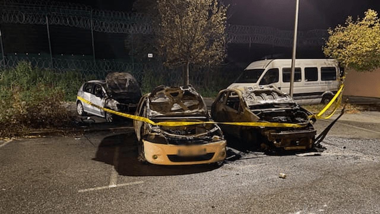 Grenoble : La prison attaquée dans la nuit. Plusieurs véhicules incendiés