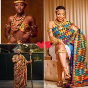 Between Nengi, Alex and prince who rocked the Kente dress best?