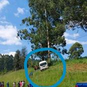 Limpopo| SEE what this taxi driver did that got the vehicle at the top of the cliff.