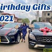 Nigerian Female Celebrities Who Got Big Cars As Birthday Gifts in 2021 (Photos)