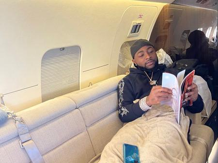 Stonebwoby, Infinix, Mr May D and others react as Davido says it about time he returns home