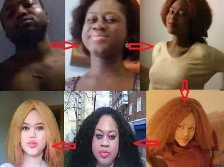 After Changing His Gender To That Of A Female, See How He Has Been Looking Now