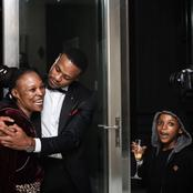Jabulani Zungu from Isibaya gushes over his mom and little brother. See pictures