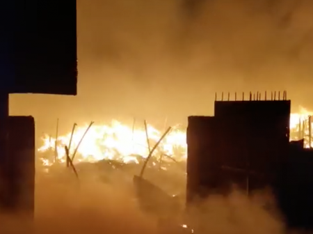 What is happening in this country? - Fire guts parts of Kantamanto