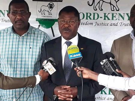 Moses Wetangula Mourns The Demise Of Top ODM Member