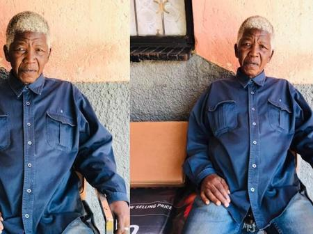 Photos of old man who looks like late Nelson Mandela shared on social media