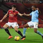Man City Vs Man United: Combined Xi.