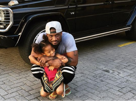 Mr. P Of Psquare Celebrates Daughter's Birthday With Lovely Photos!