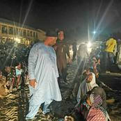 When Borno State Governor Visited IDPs Camp in The Midnight, This is What He Discovered