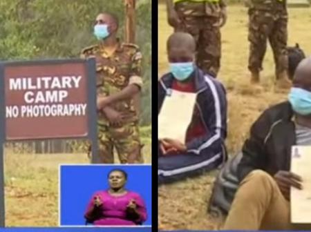 Millitary Police Arrest 55 Young People Who Reported with Fake KDF Calling Letters in Moi Barracks