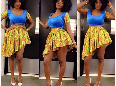 Beautiful Short Ankara Skirt Styles You Should Check Out (Photos)