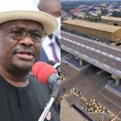See beautiful different views of flyover bridge constructed by Governor Wike in Rivers State