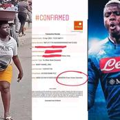 After N14 Million Was Donated To This Pure Water Hawker, A Top Footballer Also Help Her (Photos)