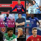 TRANSFER NEWS: Today's Transfer News As At 6:30pm Including Barcelona, Man Utd, PSG & Others.