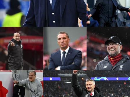 Top ten highest paid premier league managers for 2020/2021 English season