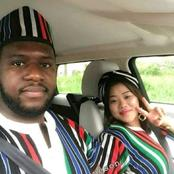 Benue Man and his Nepal wife dressed in Benue attires