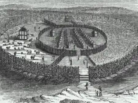 See the World's largest earthworks carried out prior to the mechanical era located in Benin City