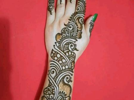 Beautiful Henna Designs For Brides Here