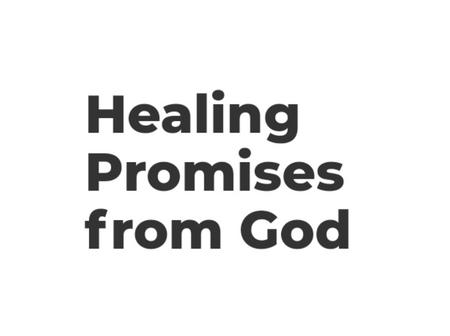 11 Healing Promises From God