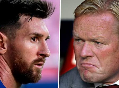 Messi will not leave Barcelona - Ronald Koeman