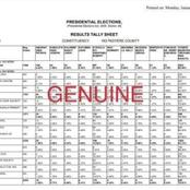 Ugandan Electoral Commission Releases The DR Form And Result Sheets Marked As Genuine And Fake