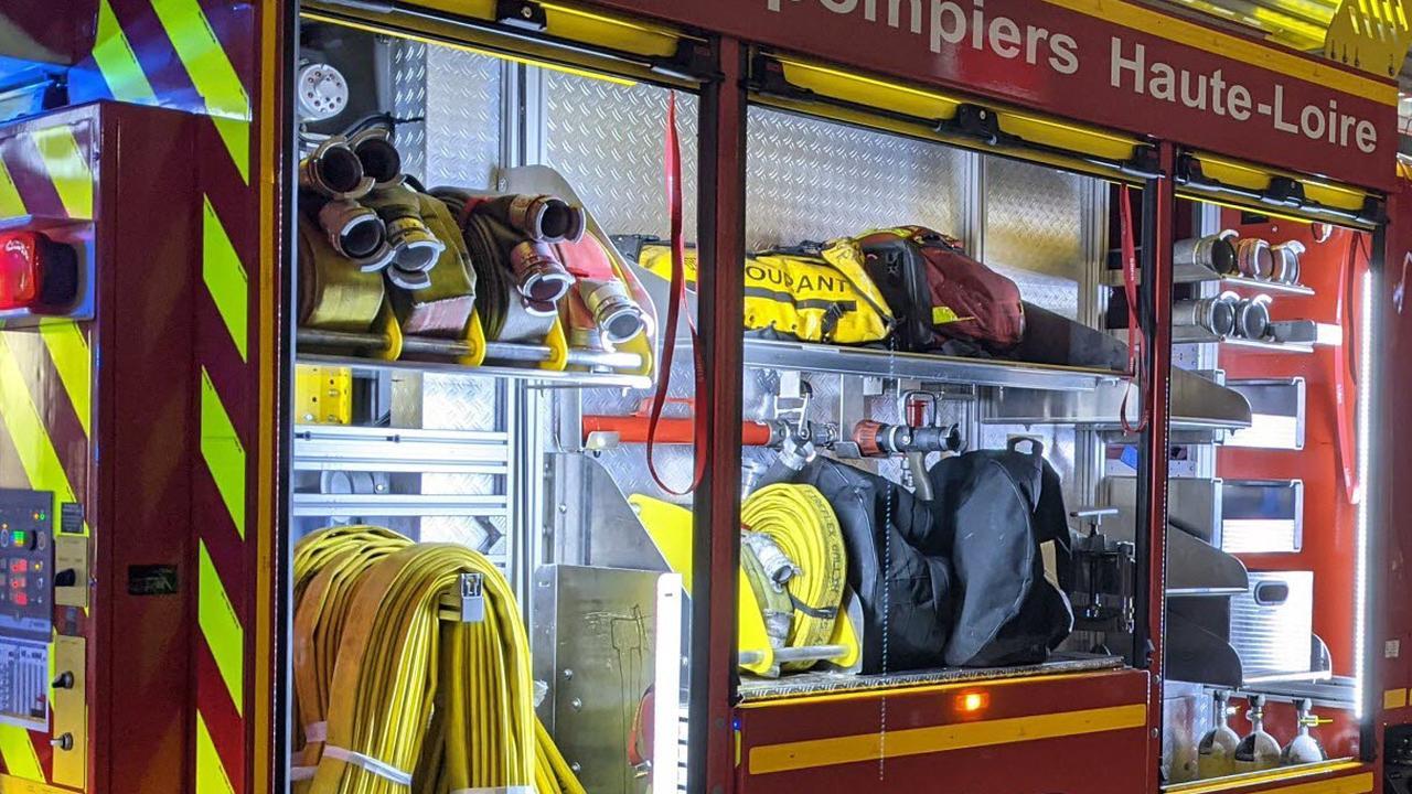 Le Mazet-Saint-Voy: les pompiers appelés pour un feu de végétation